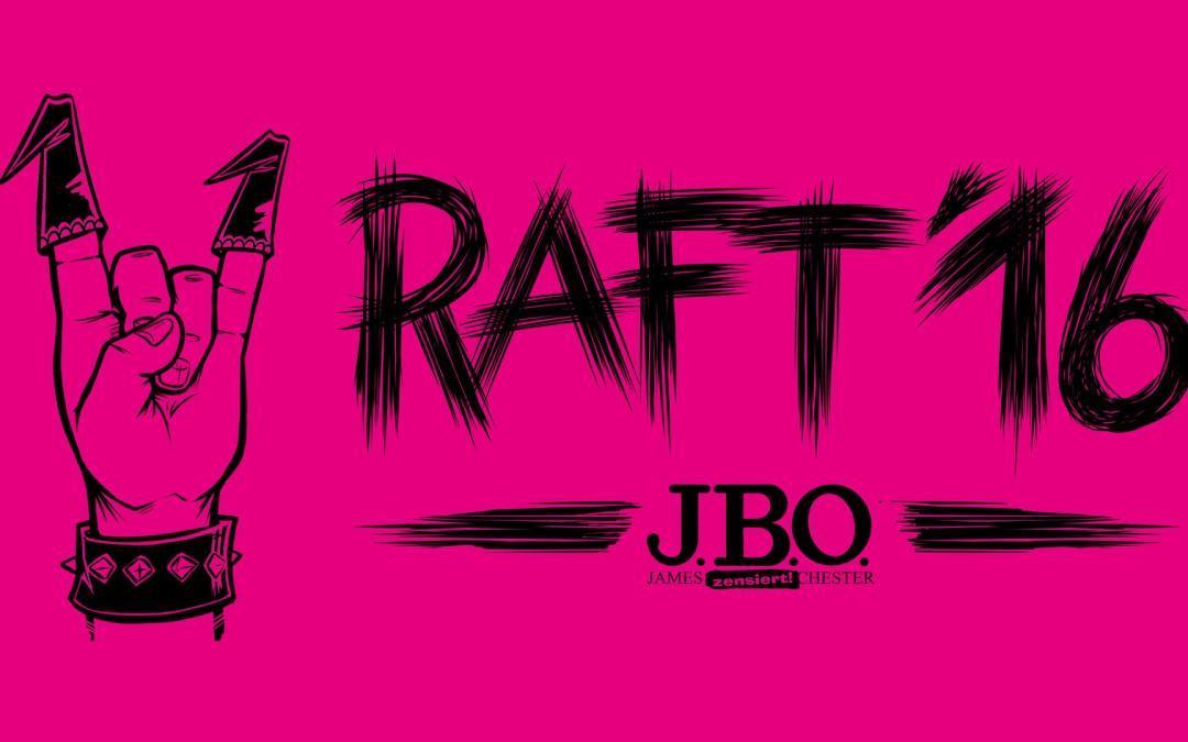 RAFT16: Letzte Chance für das RAFT-Shirt / Anmeldung
