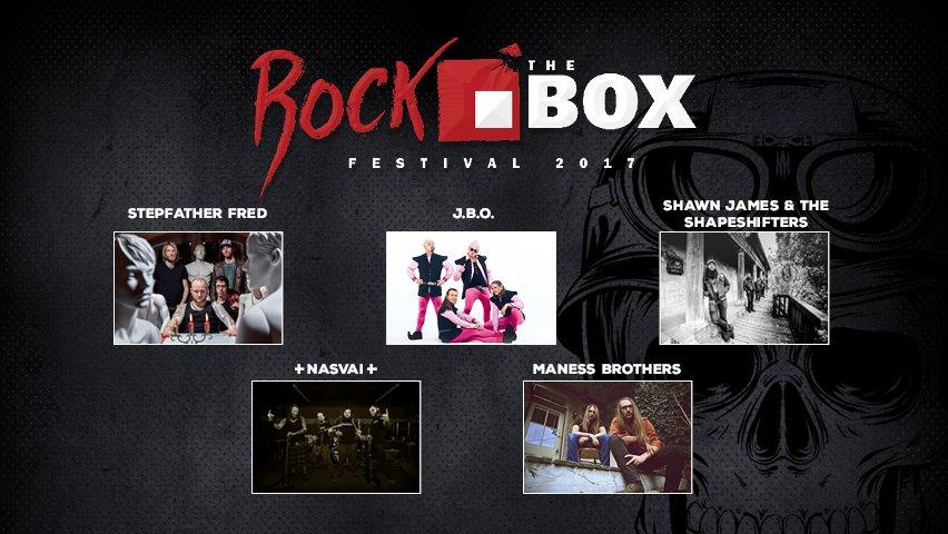 Frischer Termin: Rock the Box