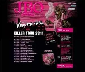 Screenshot: killer-tour.de