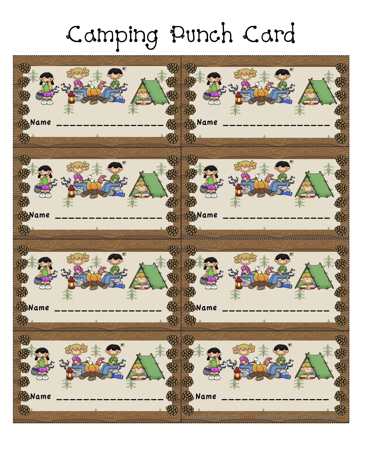 Ideas About Camping Theme Crafts