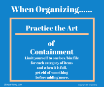 Practice the Art of Containment (1)