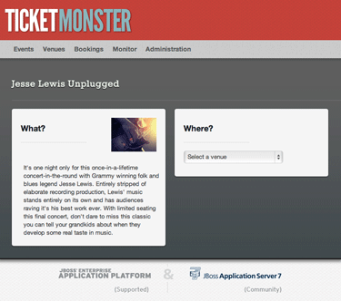 Check out Ticketmonster!