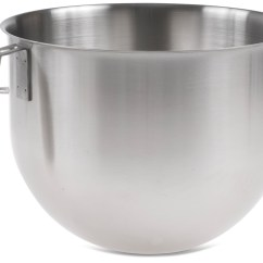 Kitchen Aid Bowls Portable Island Ikea Stainless Steel Bowl For 7 Quart Commercial Mixer Kitchenaid Qt P208