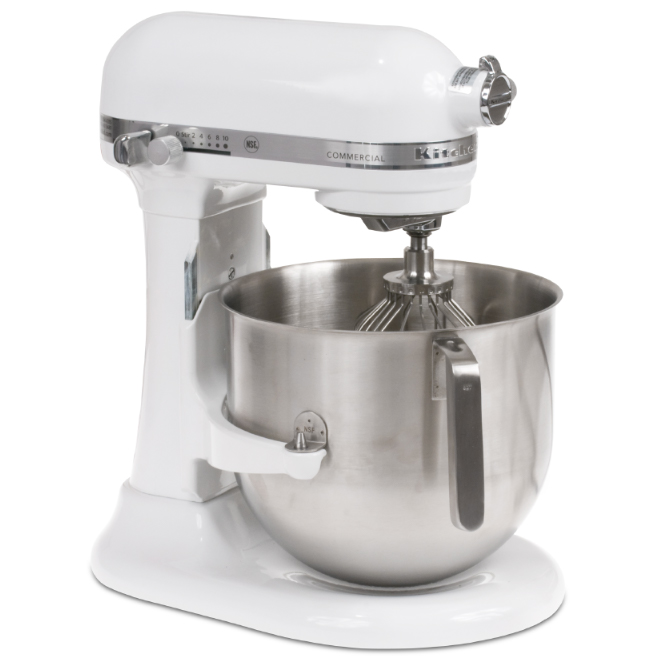 kitchen aid cookware spring faucet kitchenaid commercial mixer - 8 quarts | jbprince.com