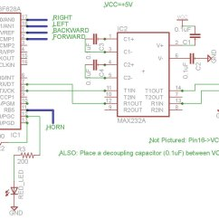 Wiring Diagram Of A Car Horn For Automotive Relay Wifi Robot - Jbprojects.net