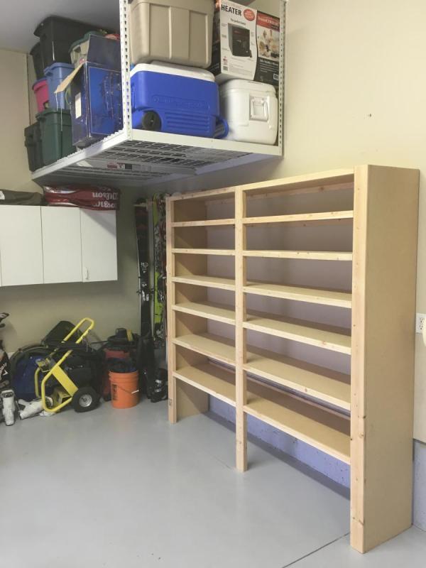 Custom Garage Shelving Jb