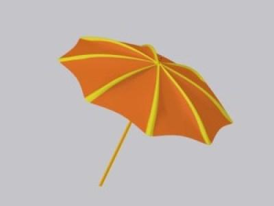 umbrella openGL render