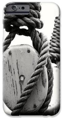 Block And Tackle Of Old Sailing Ship Phone