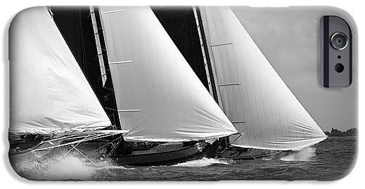 Skutsjes Sailing Vessels In The Midst Of A Regatta Phone