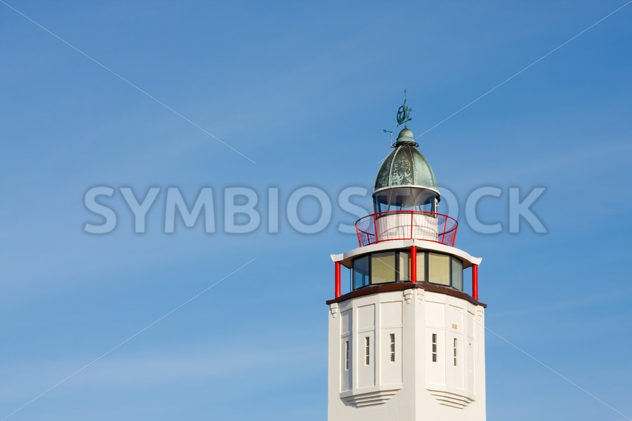 Lighthouse Harlingen - Jan Brons Stock Images