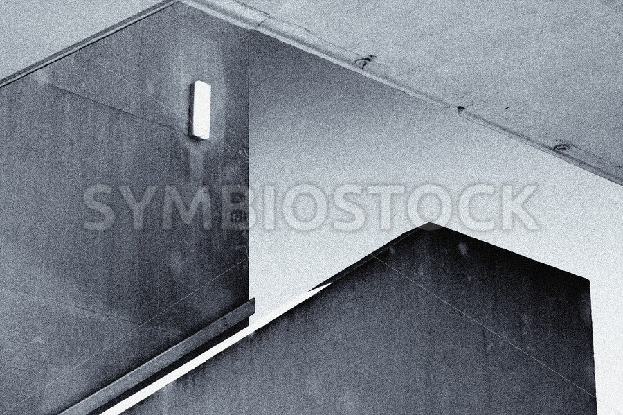 Concrete Staircase - Jan Brons Stock Images