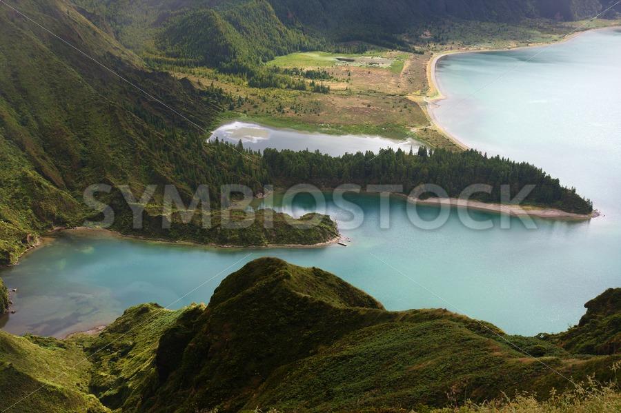Lagoa do Fogo - Jan Brons Stock Images
