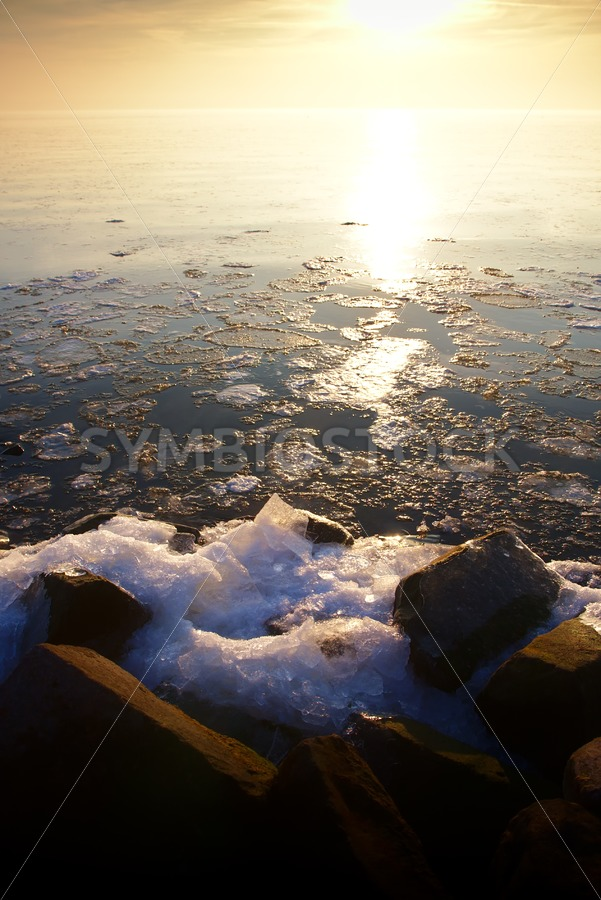 Sunset over Ice Lake