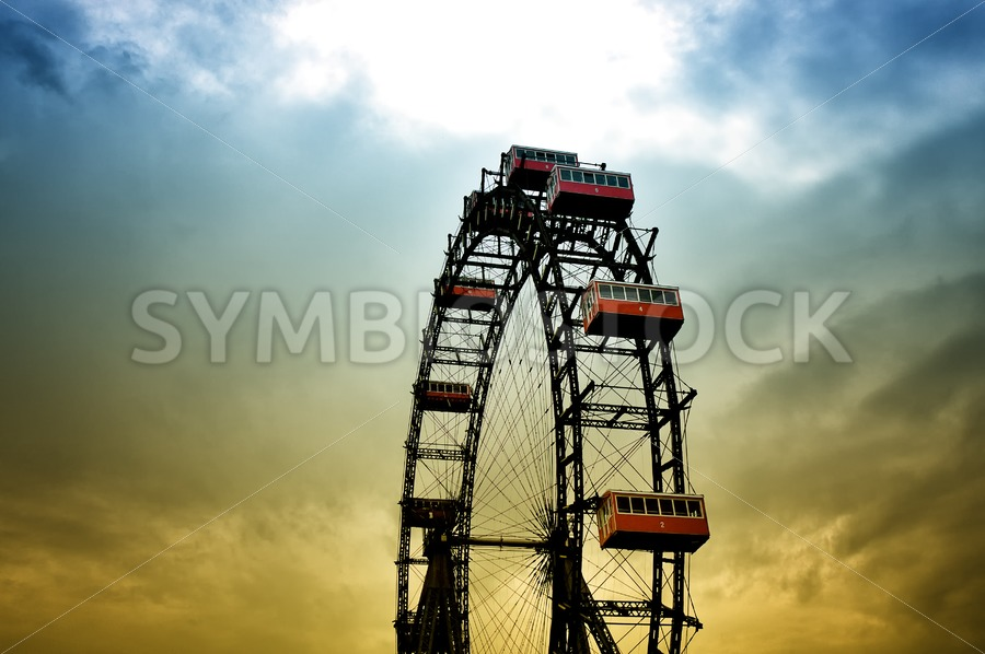 Historical Ferris Wheel - Jan Brons Stock Images