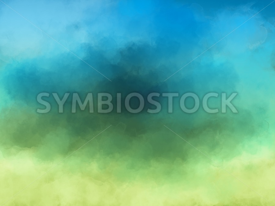 Yellow Green Blue - Jan Brons Stock Images