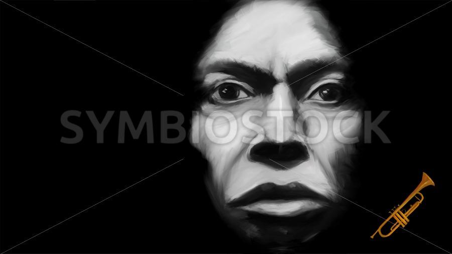 Miles Davis Tutu - Jan Brons Stock Images