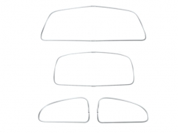 VW American Style Window Rubber Kit, Super Beetle Sedan