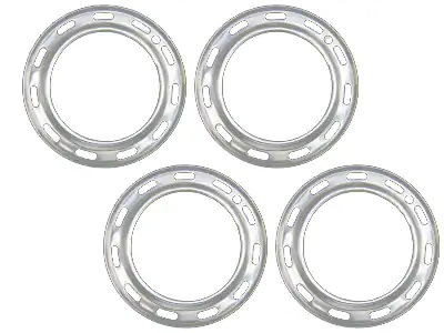 EMPI Aluminum VW Beauty Rings, 4 Piece Set, Beetle 1954-65