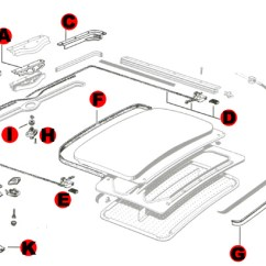 Vw Sand Rail Wiring Diagram 1956 Ford Thunderbird Bug Sunroof Components 1964-1967: Parts | Jbugs.com