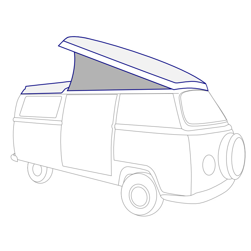 VW Camper Parts 1968-1973, Pop-Top Parts- JBugs