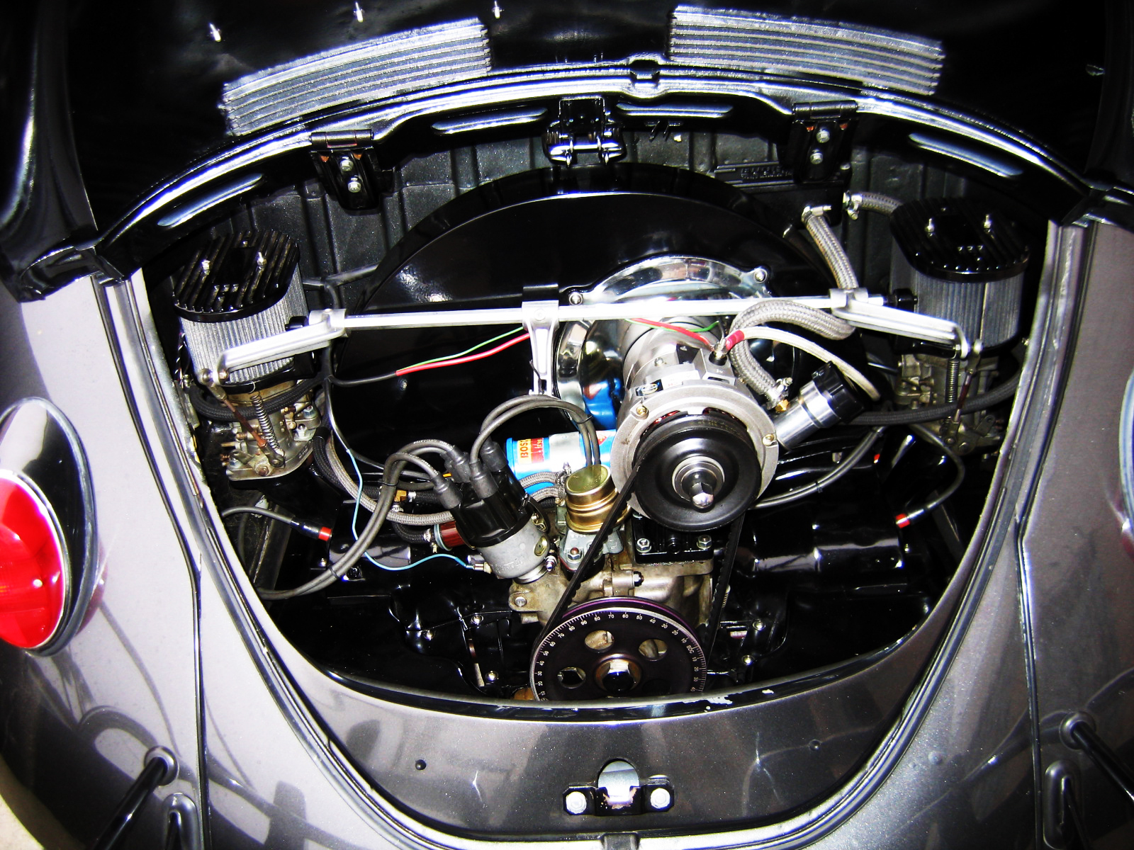 hight resolution of air cooled vw bug engine