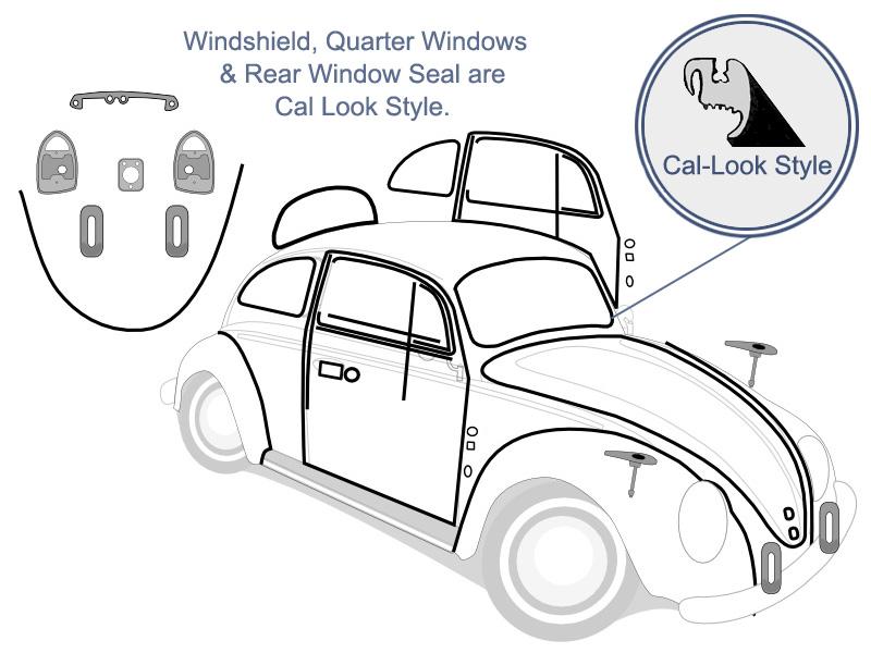Seal Quarter Window Pop