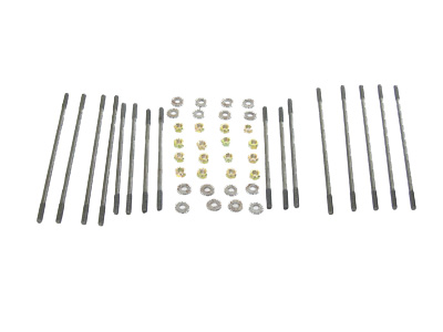 VW Head Stud Kit, Dual Port, 8mm, 48pc Kit: VW Parts
