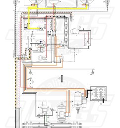 1963 vw bug wiring wiring diagram datasource 1963 vw basic wiring [ 5000 x 7372 Pixel ]