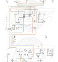 vw tech article 1960 61 wiring diagram 1960 vw bus fuse box [ 5000 x 7372 Pixel ]