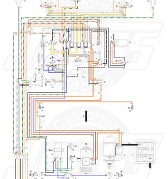 vw tech article 1960 61 wiring diagram 1974 vw alternator wiring diagram a vw sand rail wiring [ 5000 x 7372 Pixel ]