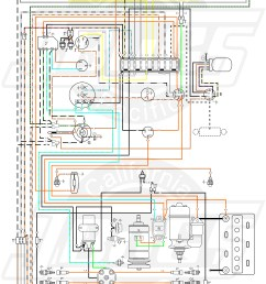 vw tech article 1966 67 wiring diagram1966 wiring diagram 7 [ 5000 x 7372 Pixel ]