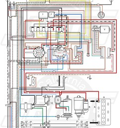 vw tech article 1971 wiring diagram [ 5000 x 7372 Pixel ]