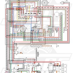 Vw Beetle Wiring Diagram Ford E250 Radio Air Cooled Volkswagen Fuse Box  For