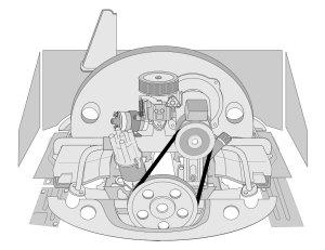 VW Parts | JBugs:VW Engine Tin and Chrome DressUp Kits