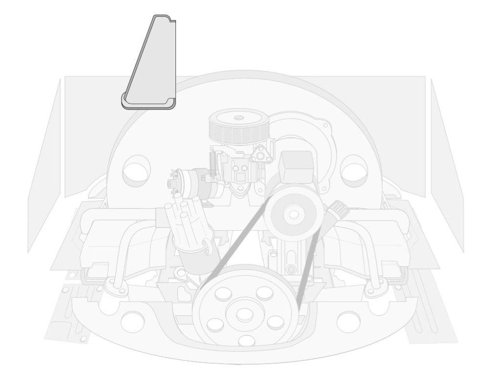medium resolution of  heater channel kits front engine tin