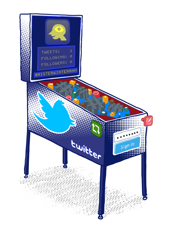 twitter-pinball