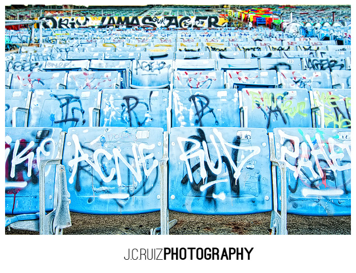 Miami Marine Stadium Chairs
