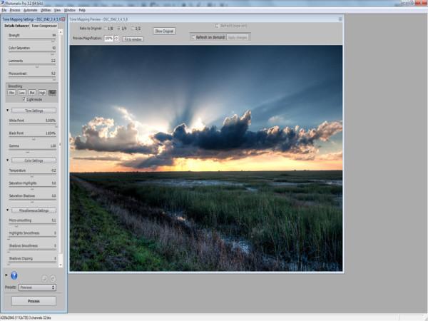 HDRsoft Photomatrix Screenshot - JC Ruiz Photography