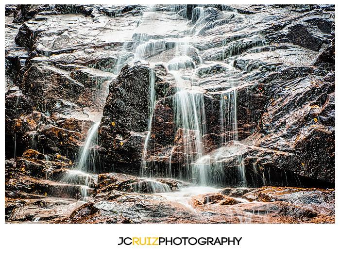 Arethusa Falls Waterfall in New Hampshire