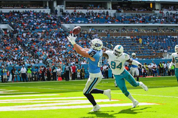 Phillip Supernaw hauls in a touchdown pass