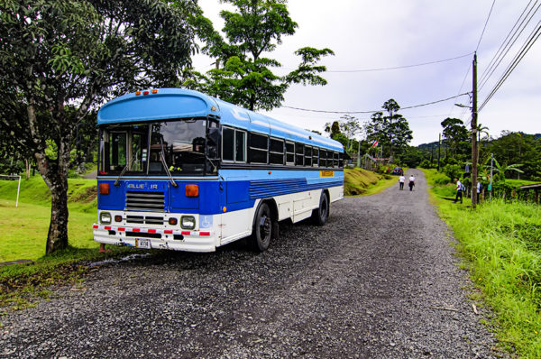 Costa Rica school bus