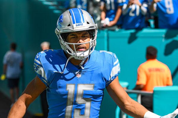 Detroit Lions wide receiver Golden Tate (15)