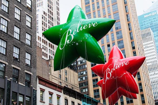 macys thanksgiving day parade believe balloons