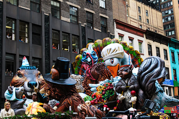 Macys thanksgiving day floats