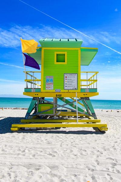 6th Street lifeguard station, Miami Beach