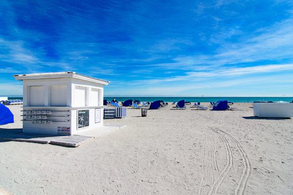 Miami Beach cabanas