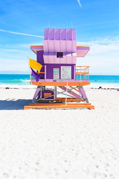 Miami Beach lifeguard station