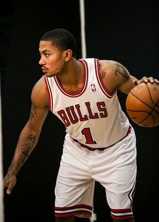 Chicago Bulls' Derrick Rose