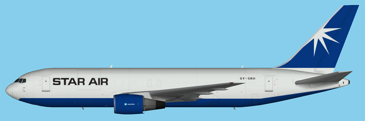 Star Air Boeing 767-200 New Colors FS9