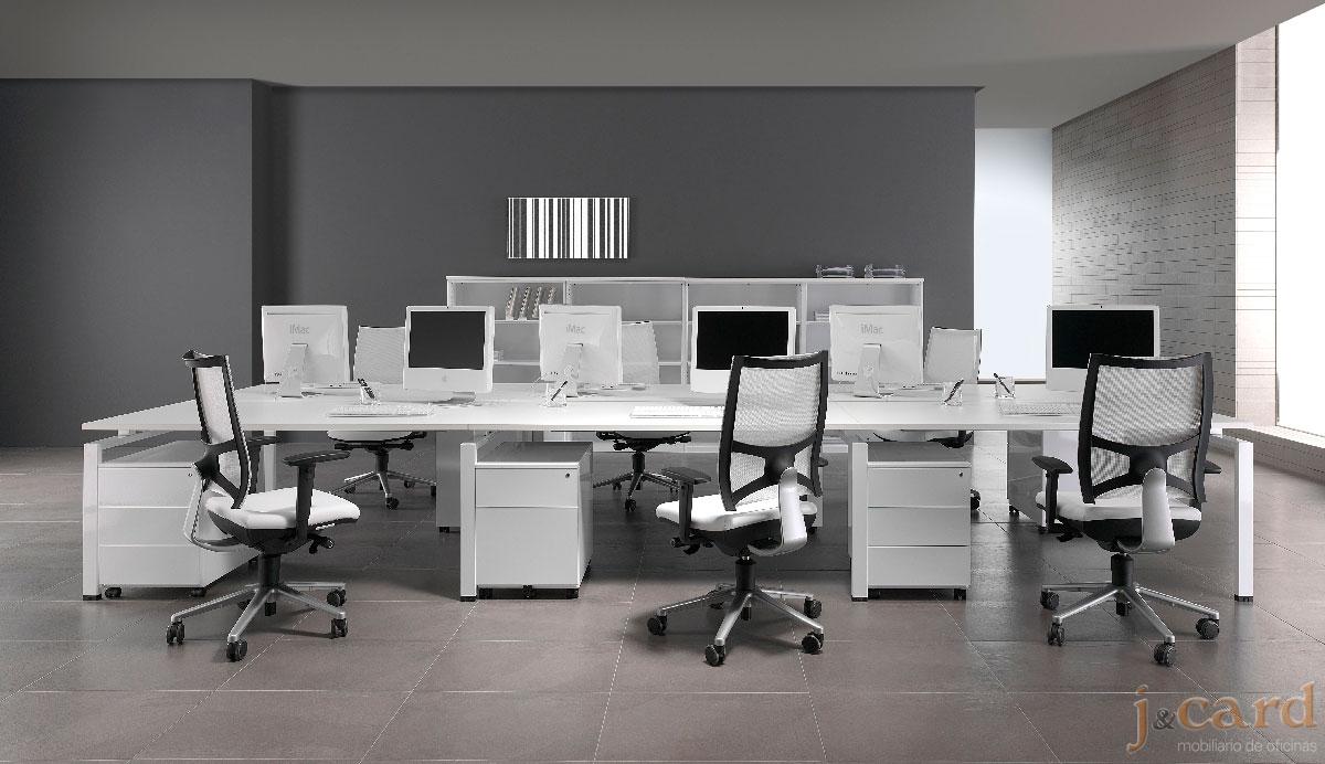 Mesa Oficina Con Cajones